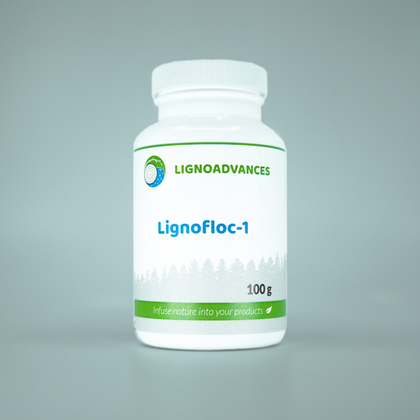 Ligno advances product image 100g of Lignofloc 1