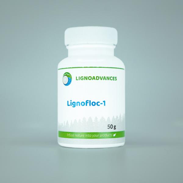 Ligno advances product image 50g of Lignofloc 1