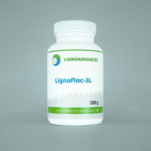 Ligno advances product image 100g of Lignofloc 3L