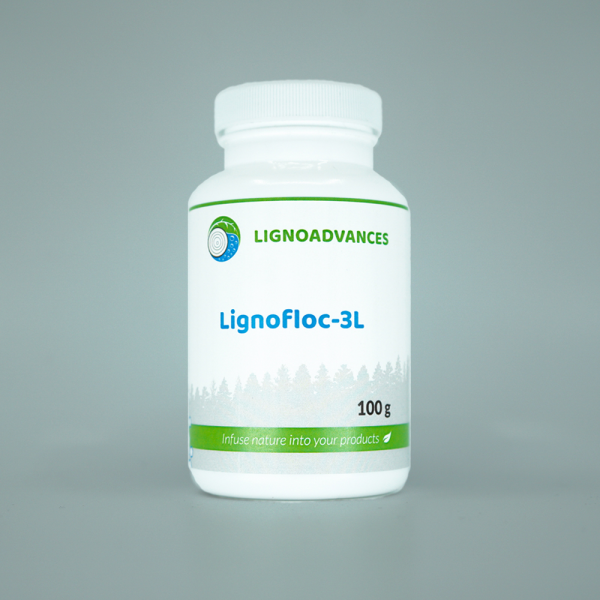 Ligno advances product image 100g of Lignofloc 3L